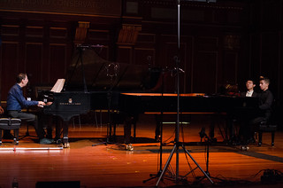 Avik Sarkar, 17, piano with Guest Artist Fred Hersch | by From the Top, Inc.