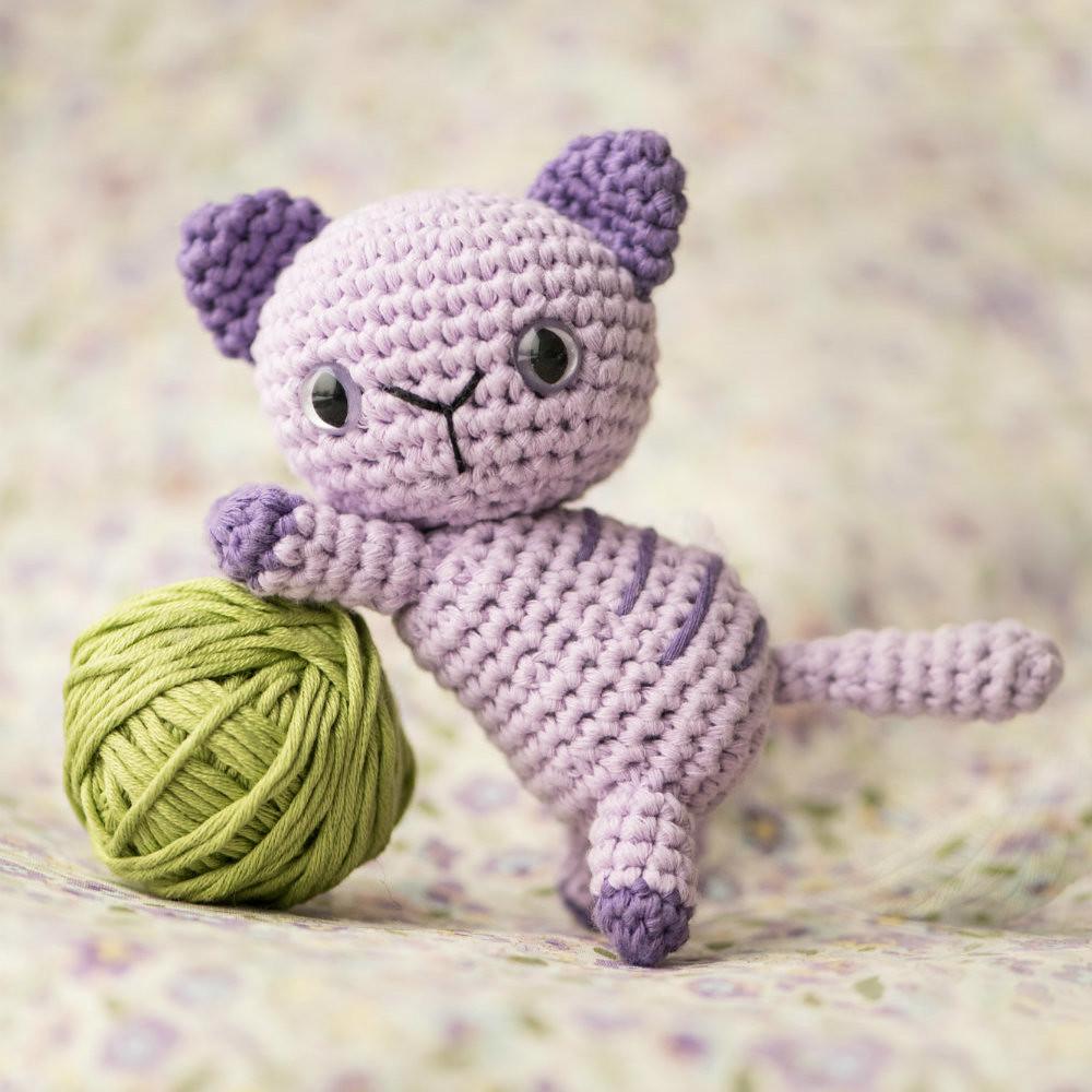 Cat Amigurumi Pattern seamless crocheted kitten | Etsy | 1000x1000