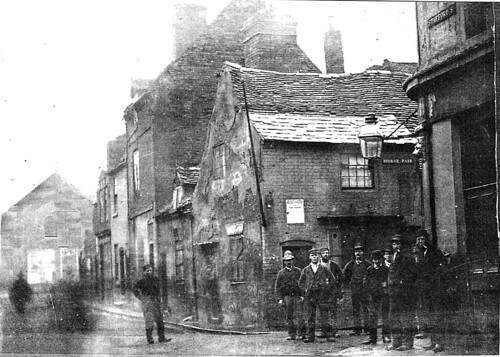 LITTLE BERRY ST 1860's | by Lost Wolverhampton