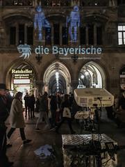 Promotionaktion aufm Marienplatz