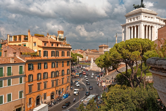 Rome / Via del Teatro di Marcello