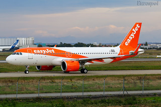F-WWBH Airbus A320 Neo EasyJet | by @Eurospot