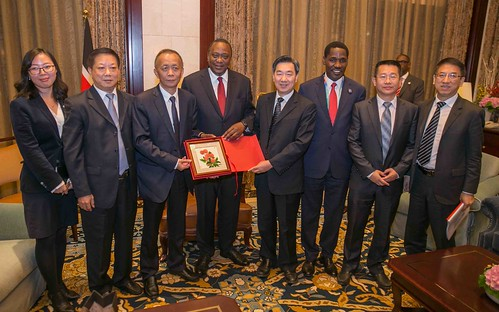 Uhuru Kewnyatta in China12 | by Kabuubi Media Africa
