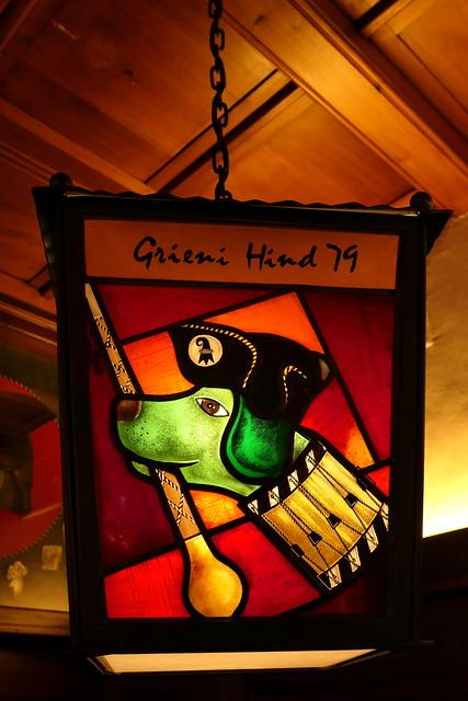 Fasnachtssujet im Restaurant Gifthüttli in der Altstadt Basel