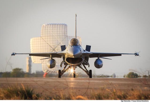 F-16AM do Chile na CRUZEX 2018