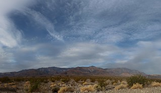 1082 Panorama of high clouds over Telescope Peak from the West Side Road | by _JFR_