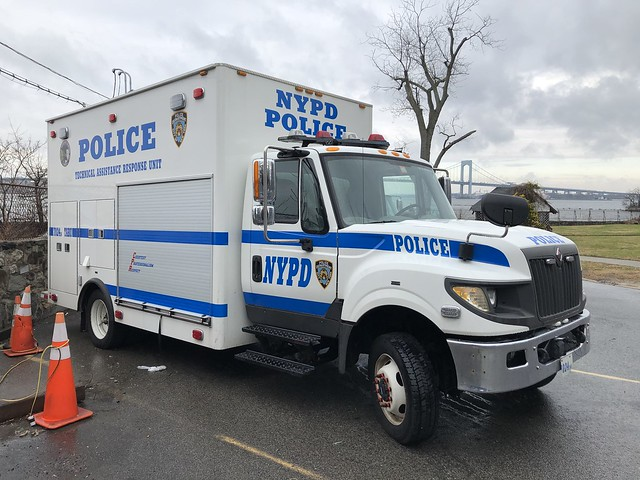 NYPD Technical Assistance Response Unit International TerraStar #7024.