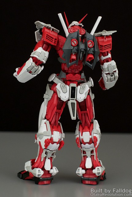 HiRM Astray Red Frame Gundam 13