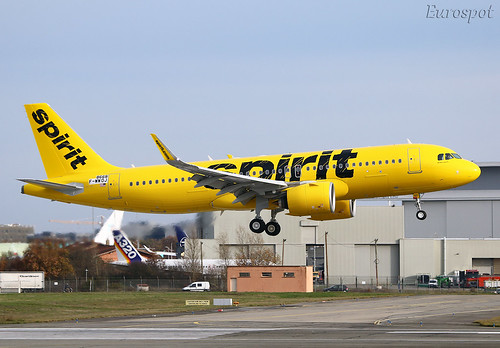 F-WWDJ Airbus A320 Neo Spirit   by @Eurospot