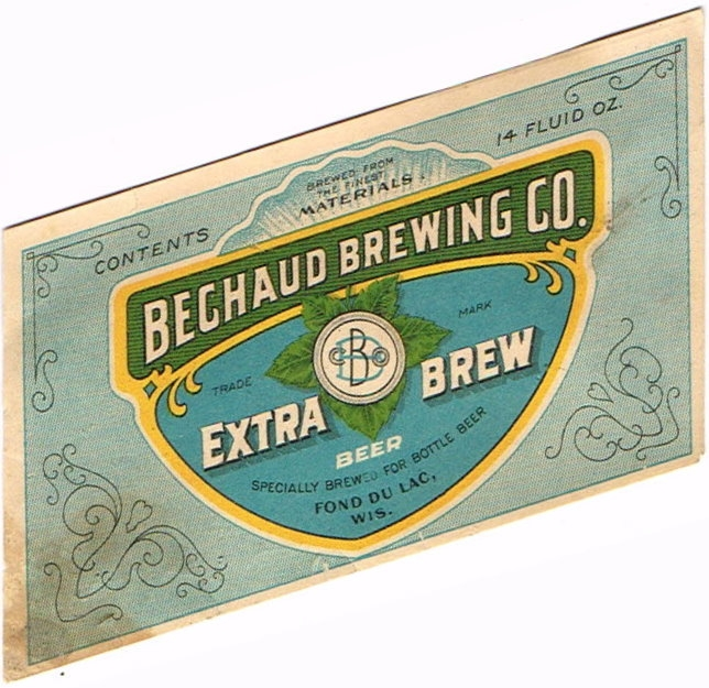 Extra-Brew-Beer-Labels-Bechaud-Brewing-Co-Empire-Brewery