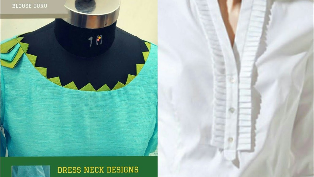 Top Stylish Neck Designs For Casual Dresses New Fashion Flickr