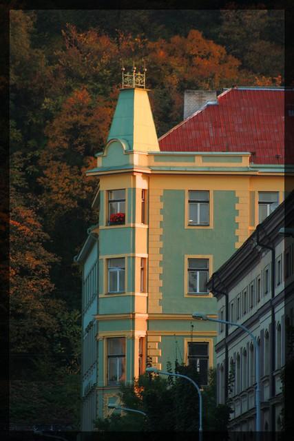 Golden Glow. Karlín, Praha (CZ)