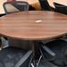 Walnut meeting table ex demo E150