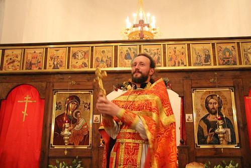 Пасхальное Богослужение в Свято-Никольском храме станицы Кавказской IMG_1485