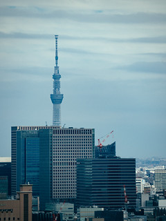 The Sky Tree, seen from the Tokyo Tower | by keimevo
