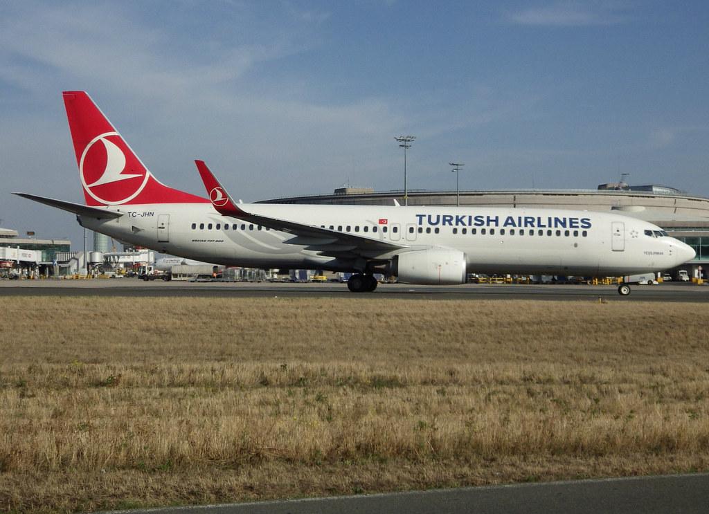 TC-JHN, Boeing 737-8F2(WL), 40981 / 4082, TK-THY-Turkish Airlines,