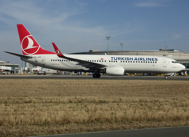 TC-JHN, Boeing 737-8F2(WL), 40981 / 4082, TK-THY-Turkish Airlines,