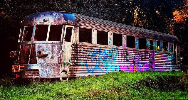 Green Train. Rome 2018.