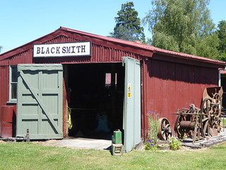 Black Smith Shop Plains Vintage Railway and Historical Museum