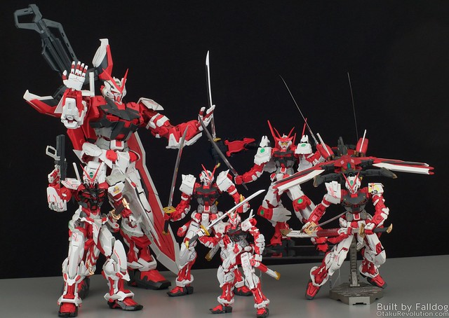 HiRM Astray Red Frame Gundam 37