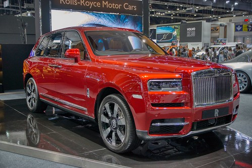 Rolls-Royce Cullinan luxury SUV at the 35th Thailand International Motor Expo at IMPACT Challenger Hall in Muang Thong Thani, Nonthaburi | by UweBKK (α 77 on )