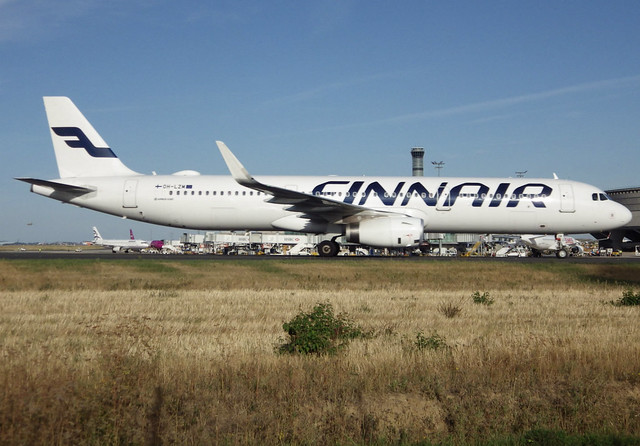 OH-LZM, Airbus A321-231(SL), c/n 7552, Finnair, CDG/LFPG 2018-09-10, taxiway Alpha-Loop.
