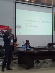 Neil McCulloch presenting_Nigerian tax perceptions survey - key findings