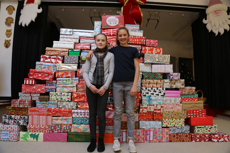 Team Hope Christmas Shoebox Appeal 2018