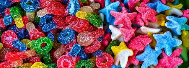 Chupetes y estrellas. Dulces sueños.