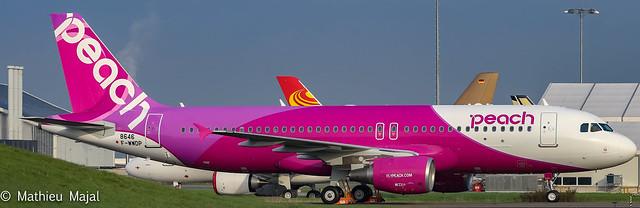 Airbus A320 / Peach