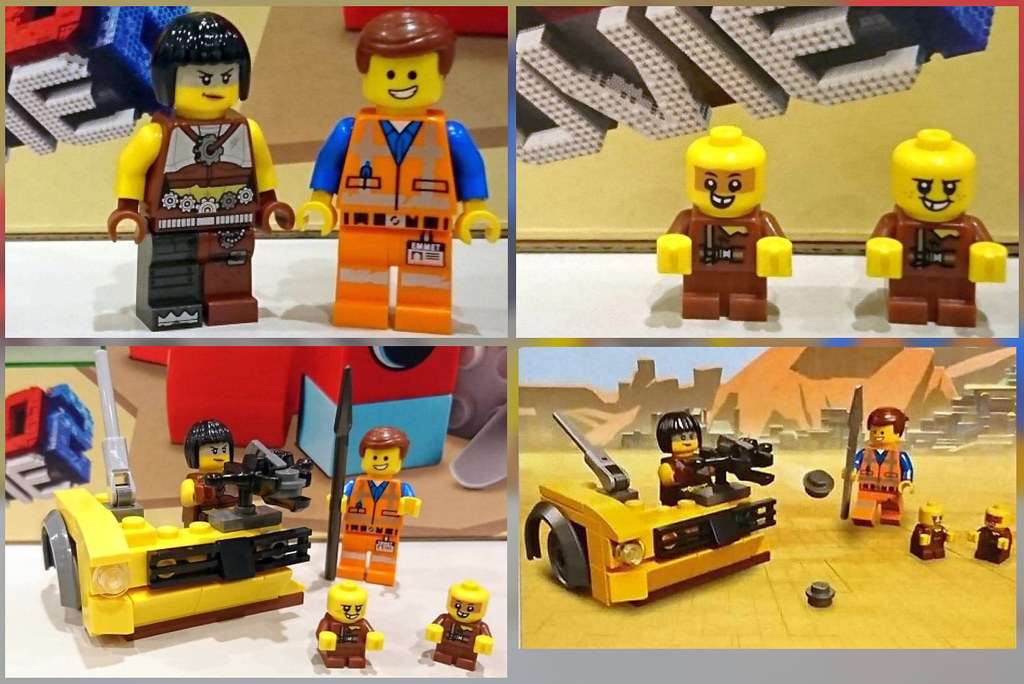 Lego Movie 2 Figure Pack Wsewer Babies Out In The Wild Flickr