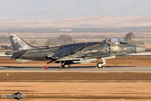 AV-8B+ 164554 WP-75 VMA-223   by Ivan Voukadinov