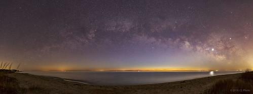 Milky Way Panorama before Sunrise