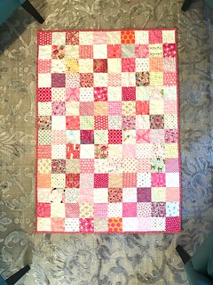 Quilt for baby girl Perales