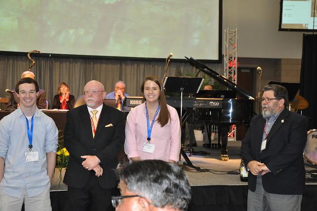 Denman Evangelism Award Winners