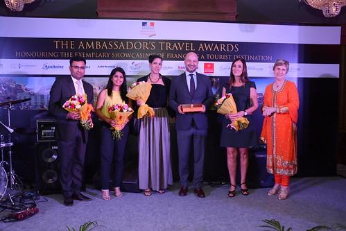 French Ambassador's Travel Awards Soiree - La France en Inde