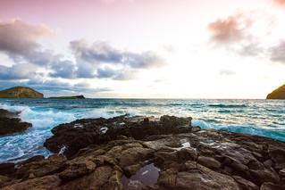 Makapuʻu Beach sunrise   by marlow@marlowsharpe.com