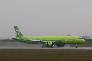 A321neo S7 Siberia Airlines VQ-BGR   by XFW-Spotter