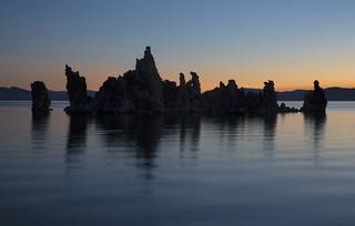 Morning Light at Mono Lake