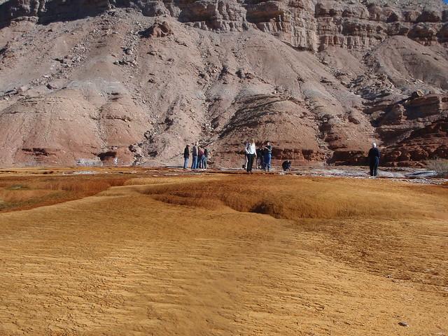Crystal Geyser mound