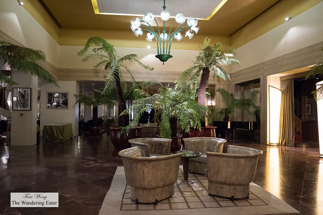 Lobby at Hotel Bauer
