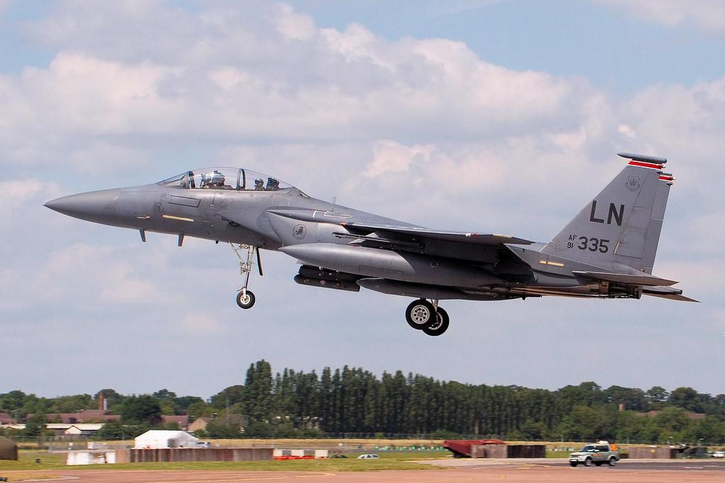 F15 Eagle - RIAT 2014