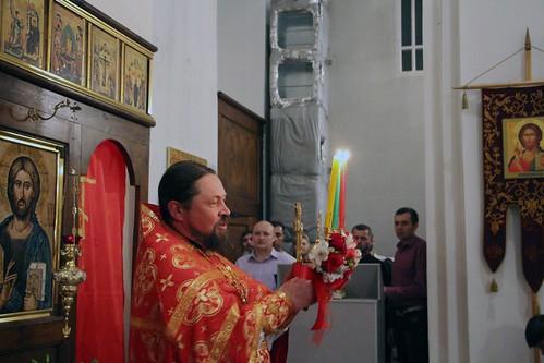 Пасхальное Богослужение в Свято-Никольском храме станицы Кавказской IMG_1370