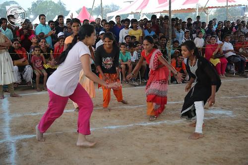 Kabbadi ground for Ladies