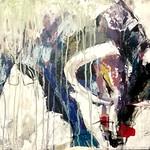 Bull,Taurus 50x70 Acryl auf Leinen 2018