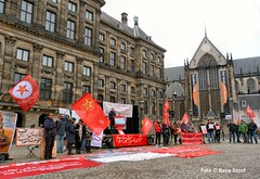 Demonstratie van Irani�rs Dam, 24-11-2018