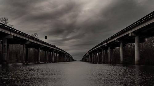 january 2019 atchafalayabasinbridge bayou louisiana cloudsstormssunsetssunrises vanishingpoint boatlaunch sonyilce7rm3 fe2470mmf28gm i10 alvinharp