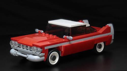 Lego Christine (Plymouth Fury) moc | by hachiroku24