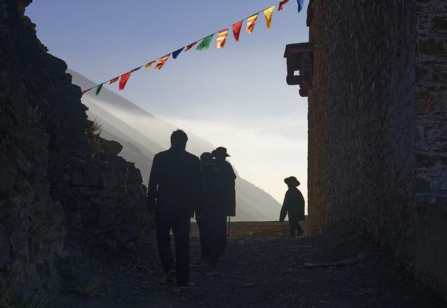 Early morning kora walk around Sershul, Tibet 2018