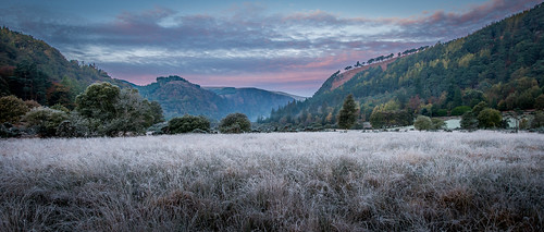 glendalough sunrise ireland valleys wicklowmountainsnationalpark countywicklow wicklowmountains dublinwicklowmountains europe glendaloughvalley nationalparks dawn rathdrum ie